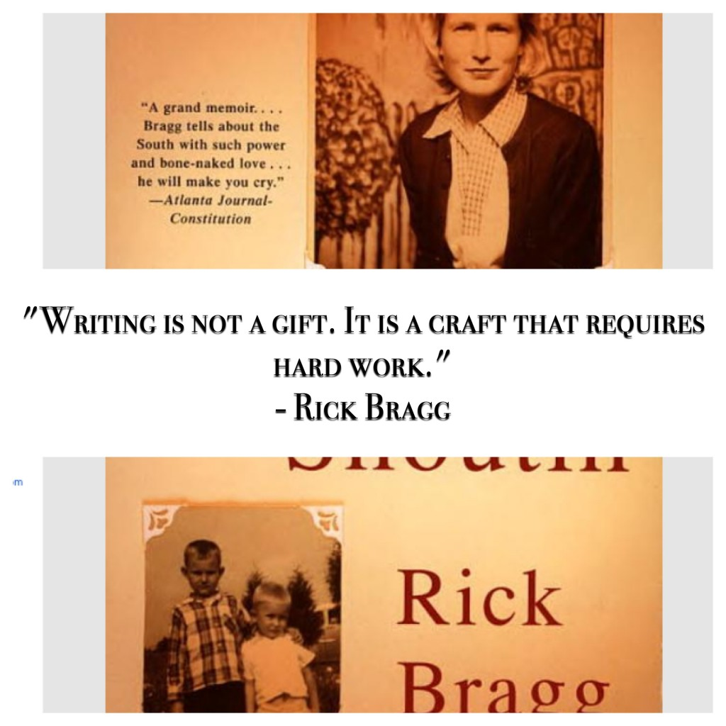 Rick Bragg quotes on writing