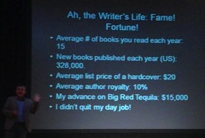 How authors make money