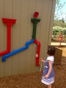 Gutter system play for kids