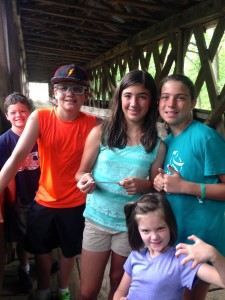 Geocaching at Clarskton Covered Bridge