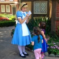 Alice at Epcot