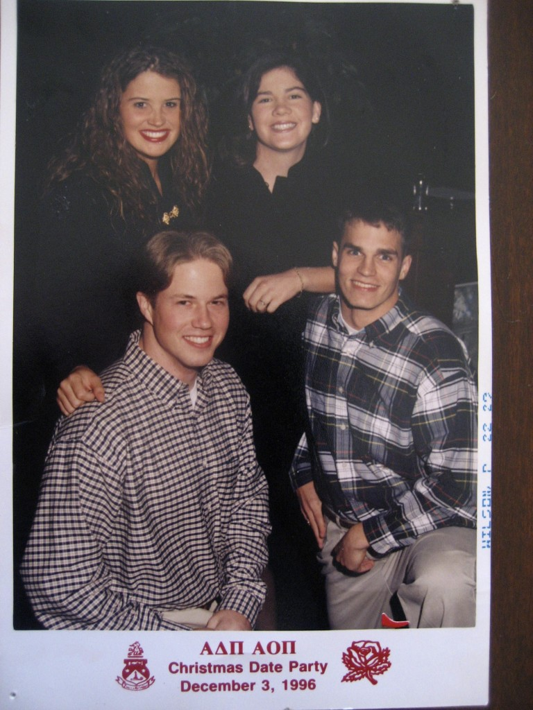 Alpha Delta Pi Christmas Party 1996