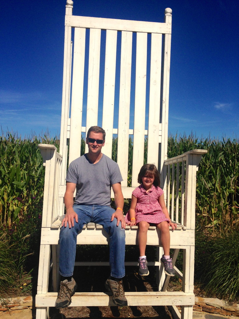Lyon Family Farms rocking chair